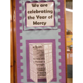 Year of Mercy Decorated Doors