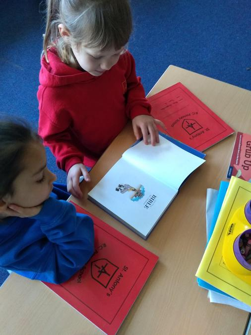 We learnt about the Bible