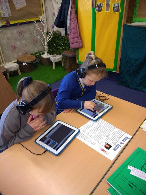 Researching using learnpads