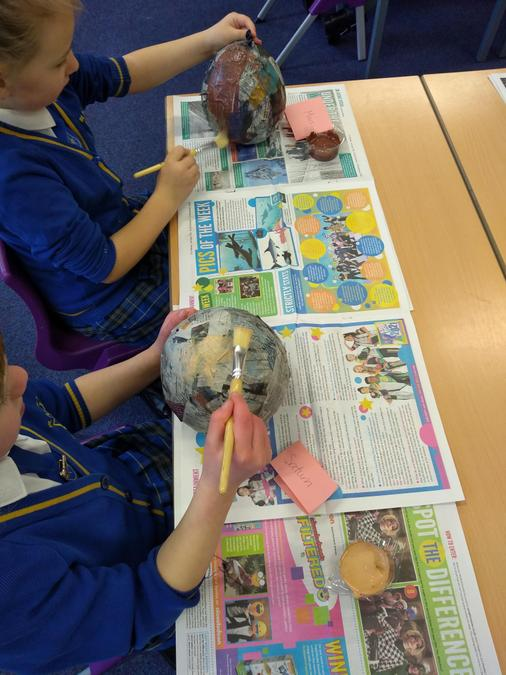 3D Solar system making...