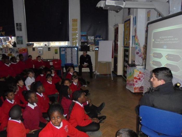 Children were shown a video clip