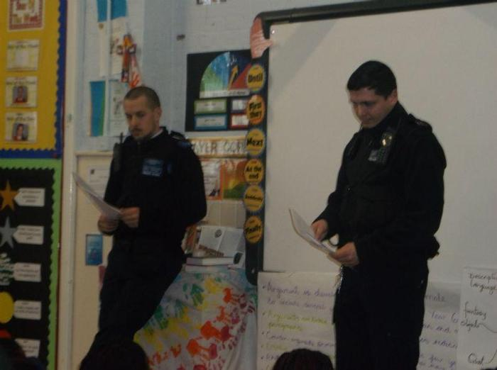 PSCO Jay and PS Dan explained what Hate Crime is