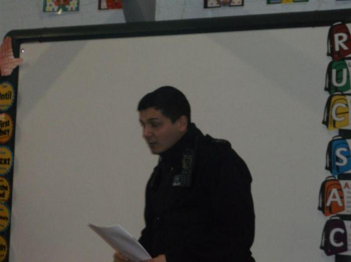 PC Dan gave some statistics of how hate crime