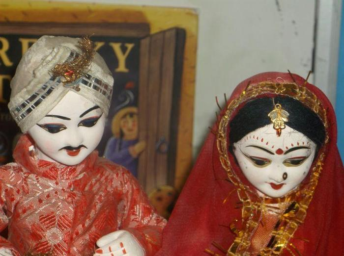 Traditional Indian dolls
