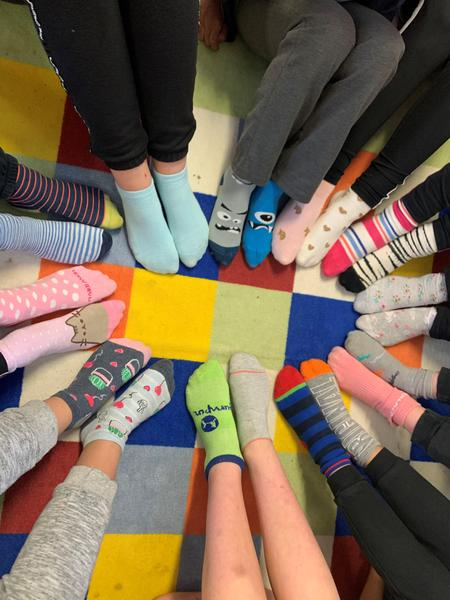 Odd Sock day - we are all different and that's great!