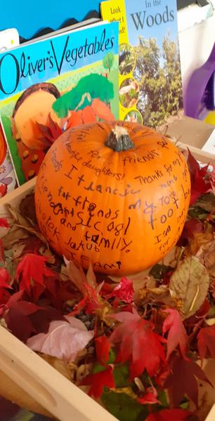 Our Frienship Pumpkin