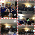 Choir singing to residents at local nursing homes