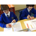 In science we have been learning about the components of blood.