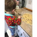 Malachi has been baking lots!