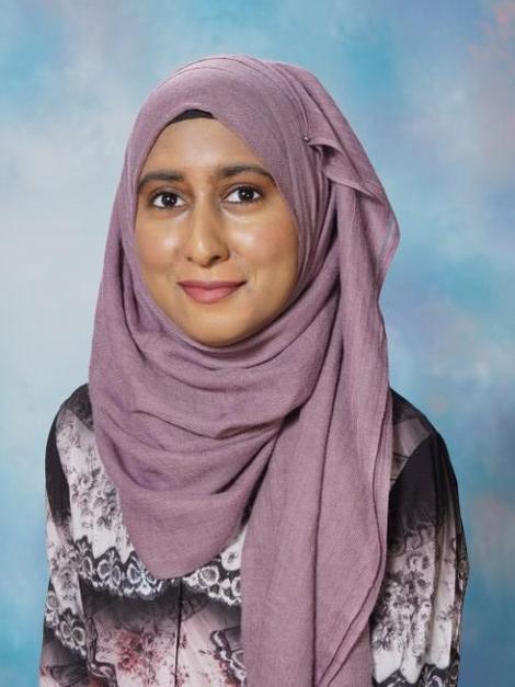 Miss Hadjat - Teaching Assistant