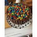 George's cake