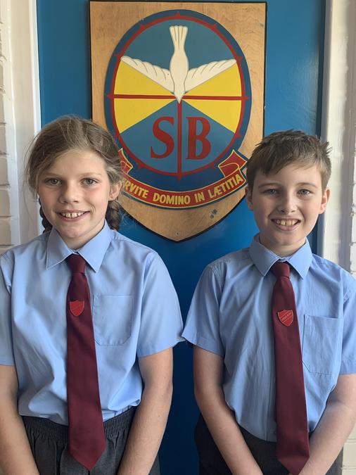 Isabelle and Nathan are our Head Girl and Head Boy for the autumn term 2021