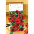 Poppies made by St David's Class
