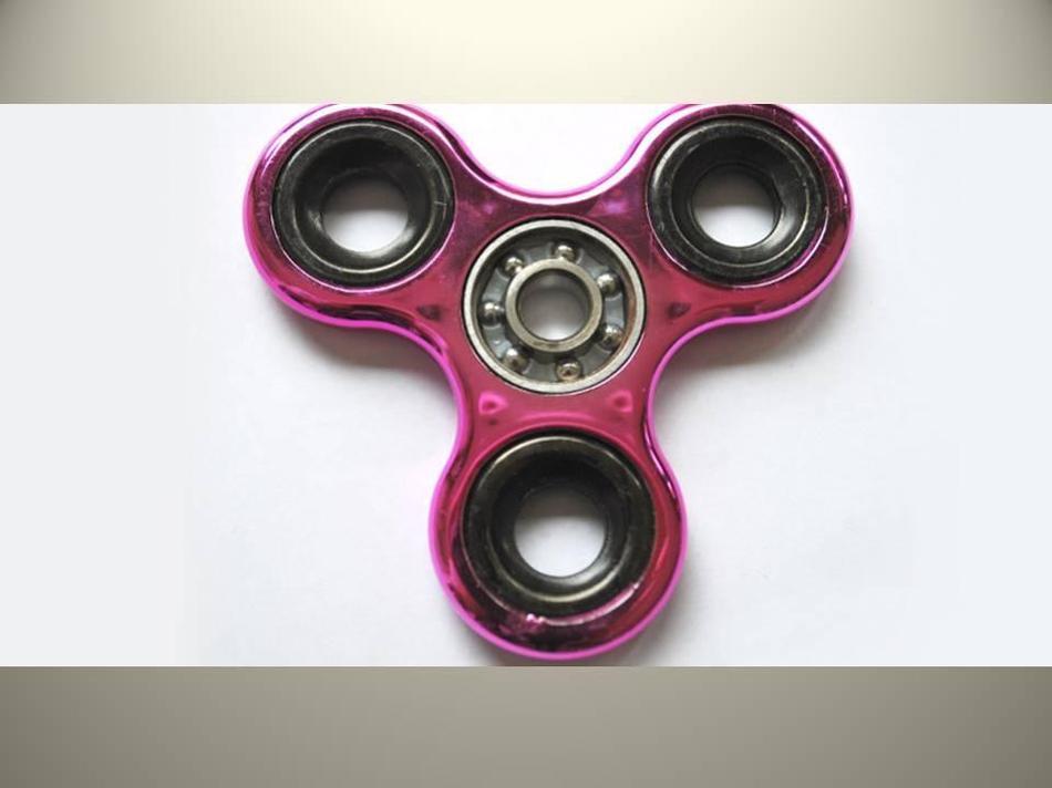 It is a fidget spinner!!