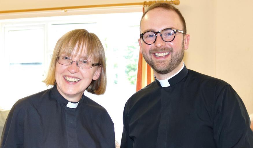 Reverend Jane and Reverend Ollie