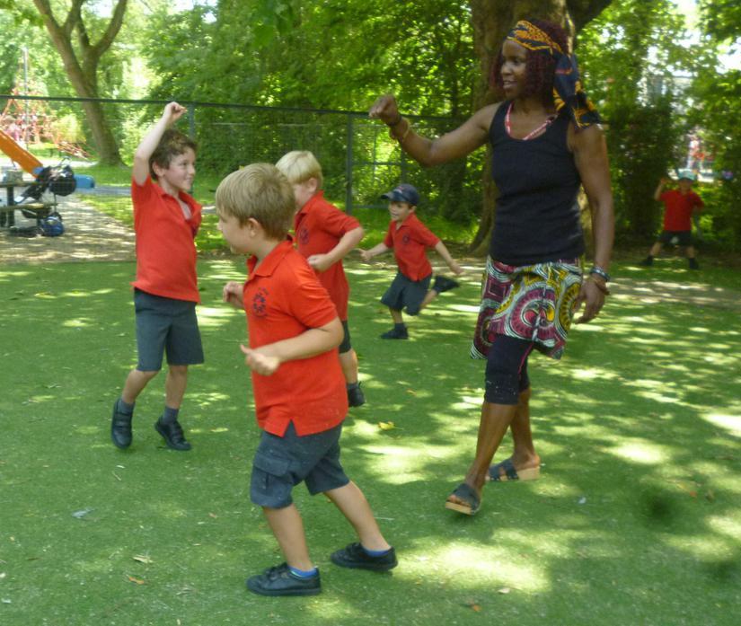 Butterfly Aborigine Emu Dance