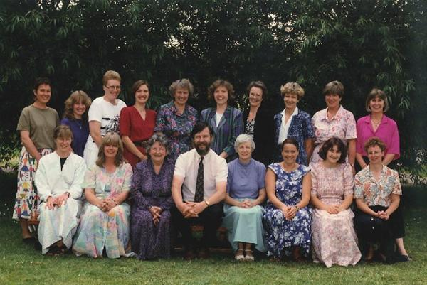 School staff in 1992