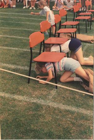 Fun and Games at Sports Day, 1989