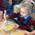 "Whisk the mixture... ""It's so soggy!"""