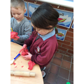 Sensory Chinese playdough