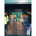 Outdoor Maths Shed