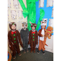 The Gingerbread man characters