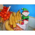 Defacing the bananas