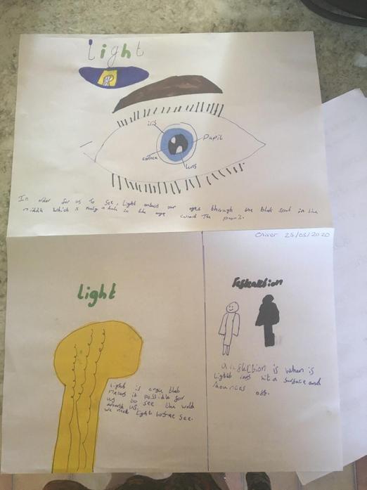 Oliver's work on light for science