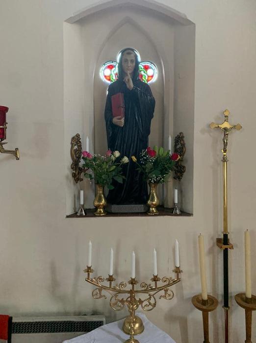 Statue of St Benedict