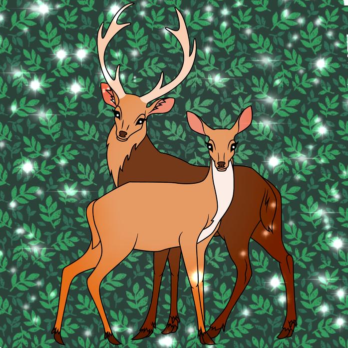 Deer picture by Aleksandra