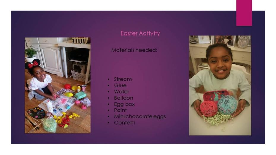 Michelle's Easter Project