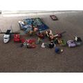 Oliver's transport model LEGO.