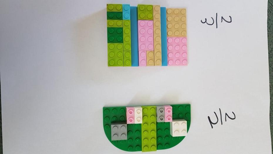 Marika's LEGO fractions