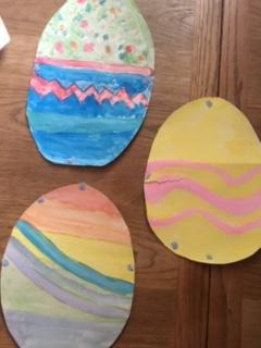 Oliver and Williams Easter egg designs