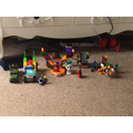William's LEGO transport