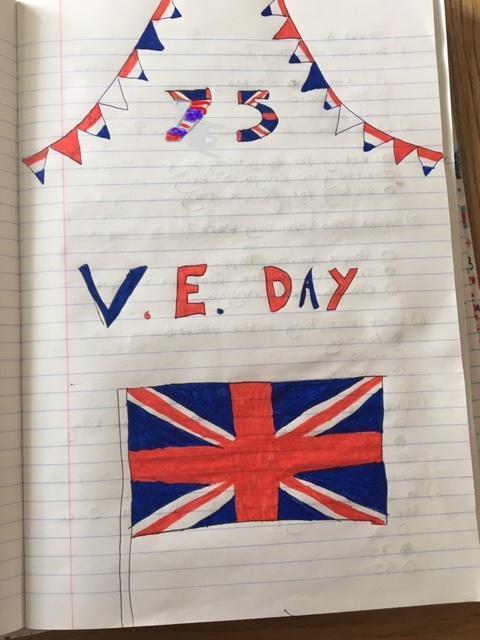 VE Day work from Jennifer