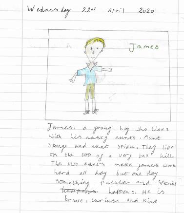 Zuzanna's character description of James
