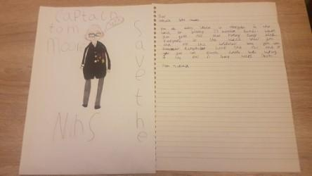 Marika's work on Captain Tom Moore