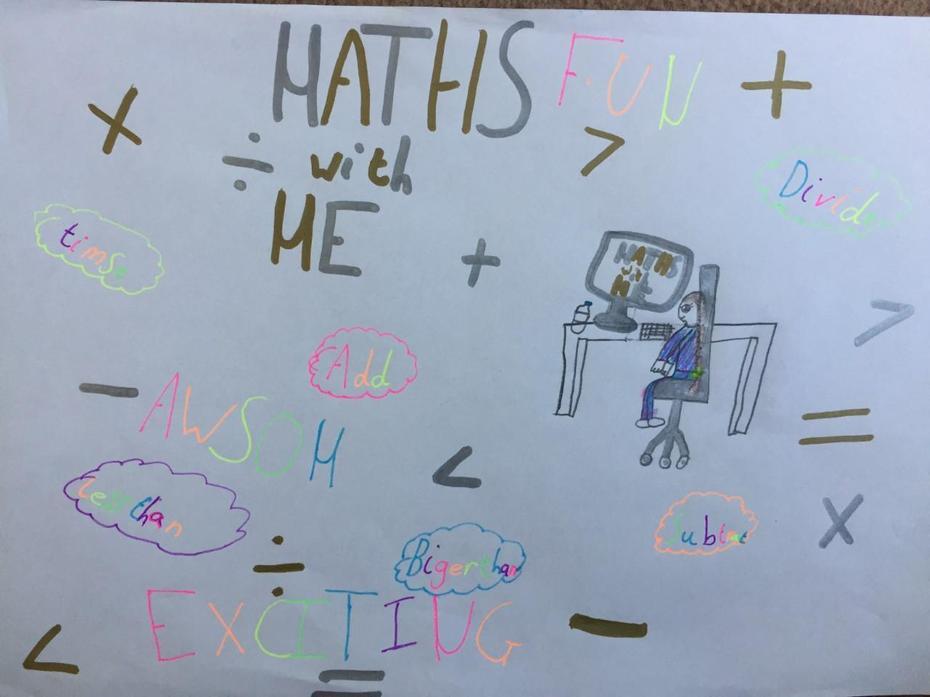 Aleksandra's Math game poster