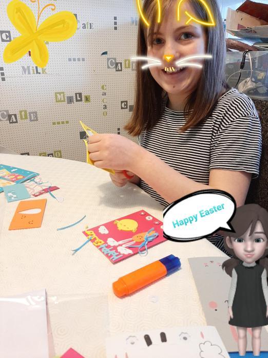 Casey-Leigh Easter fun