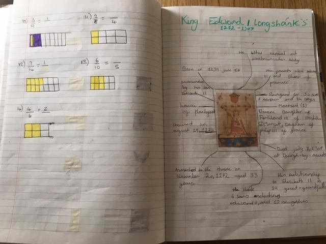 Topic Work by Jennifer - well done!