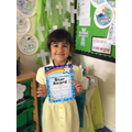 Ava has been our Star in Aston this week