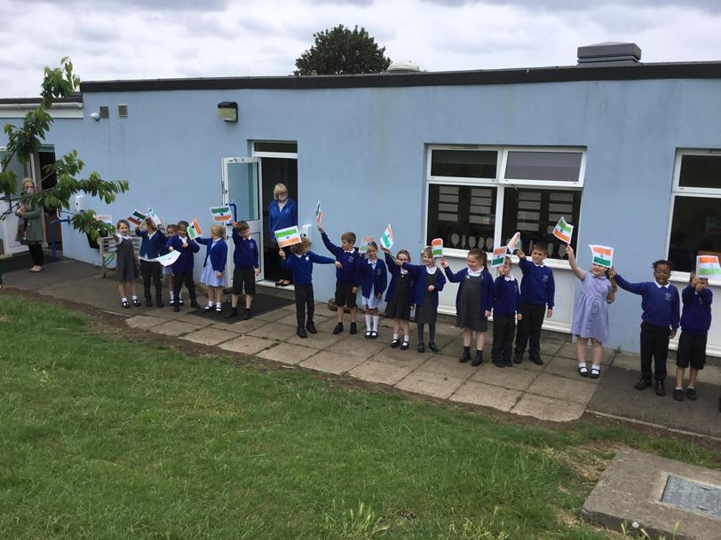 Year 2 are learning about India