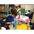 We used lots of different containers to compare and measure capacity