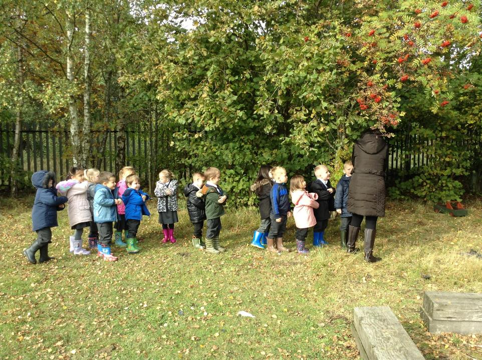 Our lovely Reception Children are on a Bear Hunt!