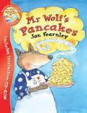 Mr Wolf's Pancakes -Jan Fearnley