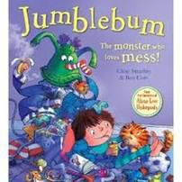 Jumblebum- The Monster who loves mess! Chae Strath