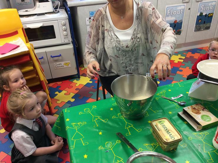 Adding yeast