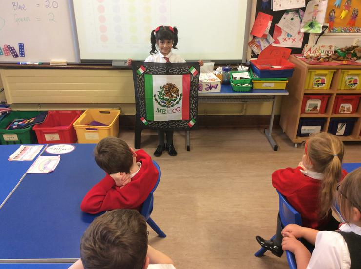 Amaya told us all about Mexico!