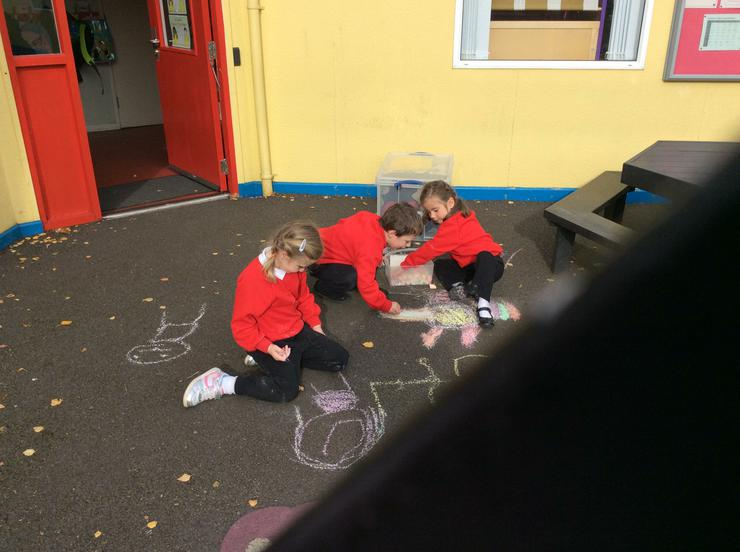 Chalking Nursery Rhymes